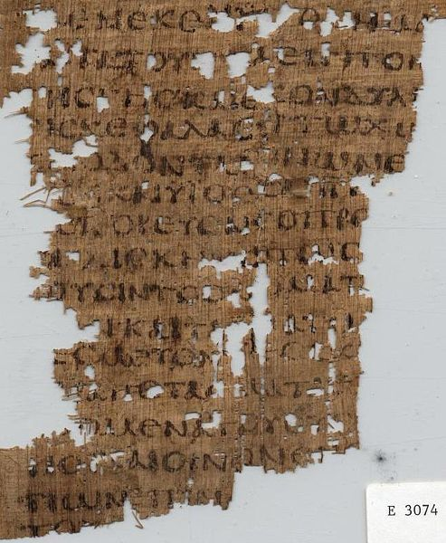 P. Oxy. VI 846 Amos 2 (LXX) (Where are Bible Manuscripts kept?)